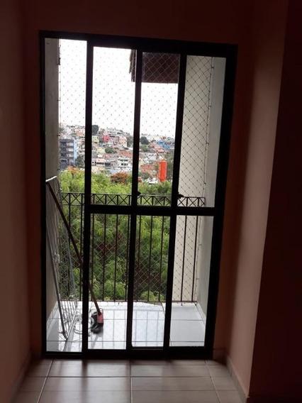 Apartamento Em Jardim Paulista, Carapicuíba/sp De 52m² 2 Quartos À Venda Por R$ 200.000,00 - Ap319051