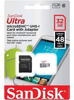 Caja X 50 Unidades Micro Sd Hc 32gb Clase 10 Sandisk