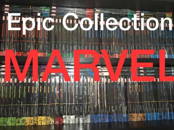 Epic Collection Marvel 110 Qualquer Edição (leia O Anúncio)