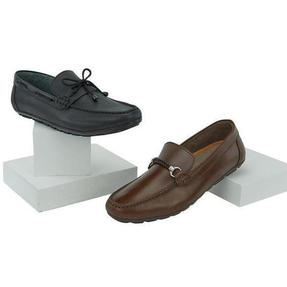 Zapatos 2x1 P/caballero Mundo Terra 017616 Uy4