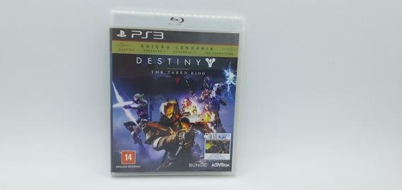 Destiny The Taken King - Ps3 - Usado - Cd Original