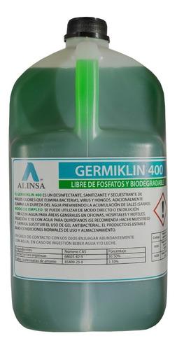 Imagen 1 de 2 de Sanitizante De Sales Cuaternarias De Amonio Biodegradable