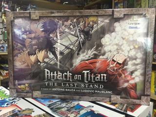 Juego De Mesa Attack On Titan: The Last Stand (la Fortaleza)