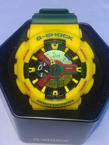 G Shock Original Ga110rf Rastafarian Nunca Foi Usado