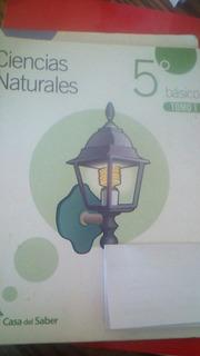 Santillana Casa Del Saber Ciencias Naturales 5°