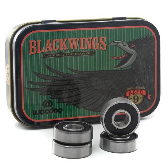 Rulemanes Blackwings Woodoo Abec 9 Fluid Tienda Oficial