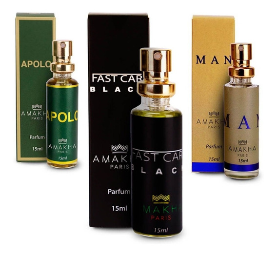 Perfumes Importados Kit Com 3 Dia Dos Pais