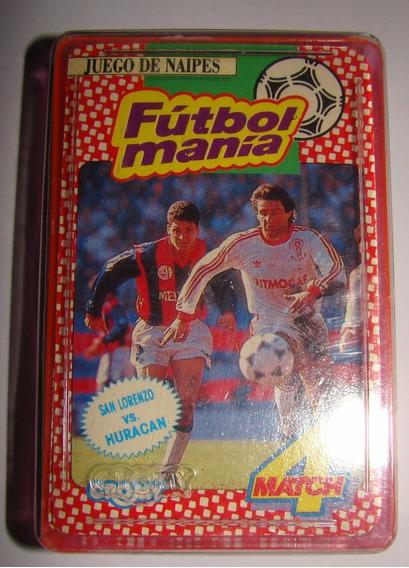 Juego De Naipes Futbolmanía Cromy San Lorenzo Huracan