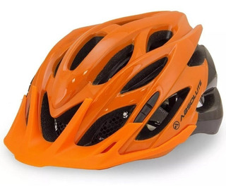 Capacete Ciclismo Bike Absolute Wild C/ Pisca Led Cores 2018