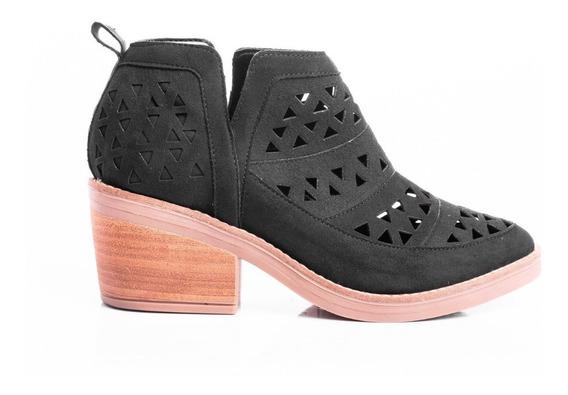 Zapatos Botas Mujer Botitas Texanas Botinetas Caladas Moda