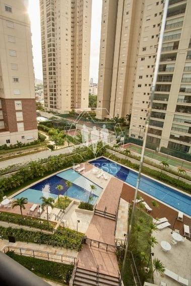 Flat Mobiliado Para Locação No Condomínio In Design, Centro De Jundiaí - Sp. - Ap02850 - 34777536