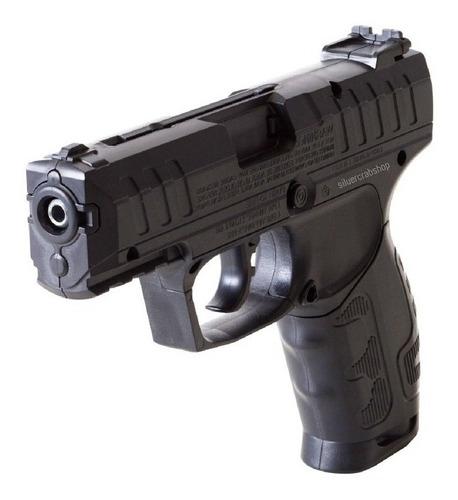 Pistola Co2 Potente Combo + Garrafas + Balines Acero 4.5