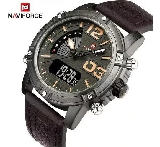 Relógio Masculino Naviforce 9095 Original Importado Barato