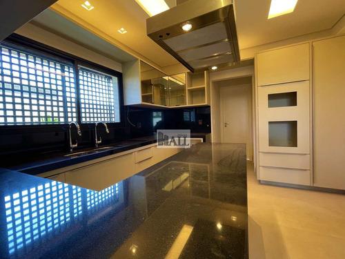 Imagem 1 de 30 de Casa À Venda Condomínio Quinta Do Golfe Com 4 Quartos E 4 Vagas - V8520