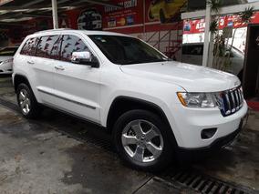 Jeep Grand Cherokee Limited Premium 4x4 Piel Q/c 2013 Blanco