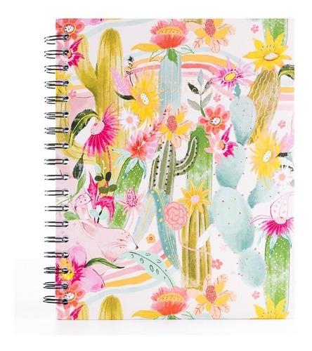 Cuaderno Dibujo - Hojas Blancas - Papelí - Happy Cactus