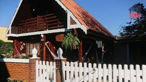Casa Com 2 Dormitórios À Venda, 100 M² Por R$ 215.000,00 - Chácaras Maringá - Atibaia/sp - Ca0611