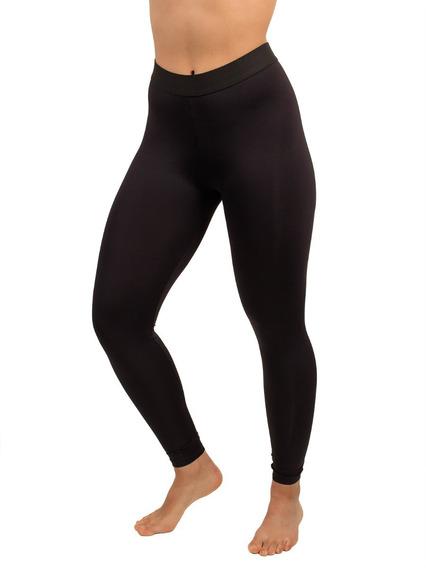 Calça Térmica Masculina Preta Tecido Com Proteção Uv5o