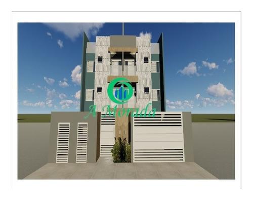 Cobertura Com 2 Dormitórios Sendo 1 Suíte À Venda Na Vila Pires - Ap03032 - 69275703