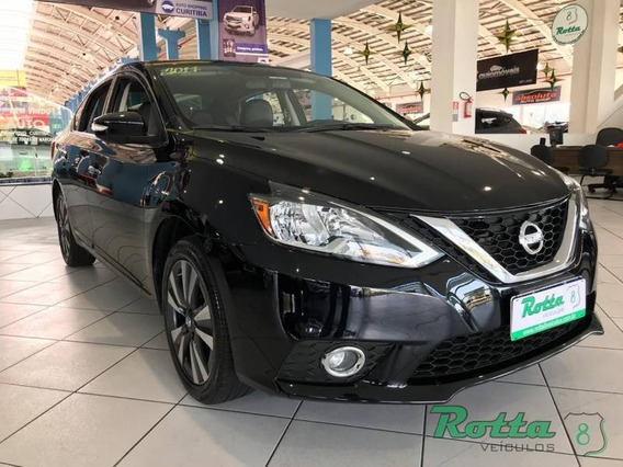 Nissan Sentra Sv 2.0 - Preto - 2017