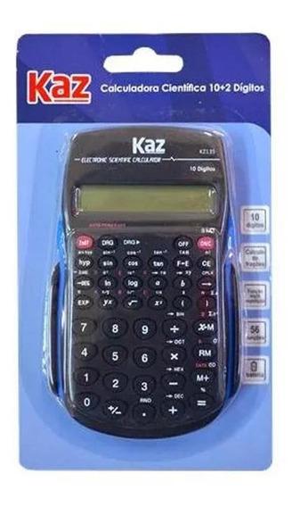 Calculadora Científica Kaz 10 2 Dígitos Kz135