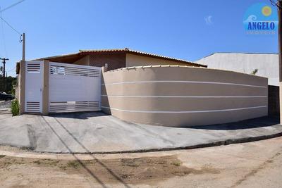 Casa No Bairro São João Batista Ii Em Peruíbe - 1095