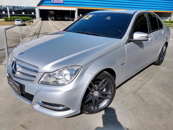 Mercedes-benz C180 Cgi 1.6 Turbo Aut. 2012/2012 Km 57.000