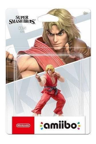 Amiibo Ken Ultimate Smash Bros Nintendo Switch Wiiu 3ds 2ds
