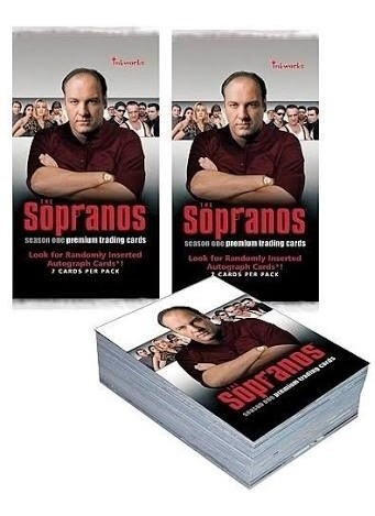 The Sorpanos 72 Trading Cards Set Completo Inkworks Tony