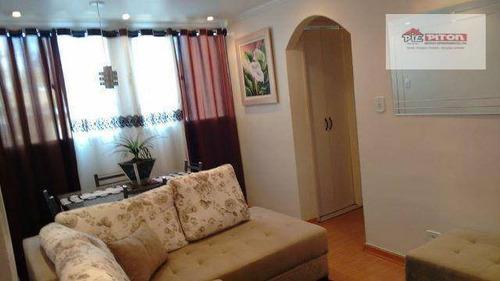 Apartamento Com 2 Dormitórios À Venda, 56 M² Por R$ 205.000,00 - Vila Sílvia - São Paulo/sp - Ap0427
