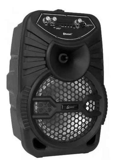 Caixa Som Amplificada 120w Bluetooth Fm Ca100 Lenoxx Origina