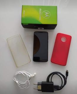 Smartphone Motorola Moto G6 Xt1925 32gb 3gb Ram Câmera Dupla