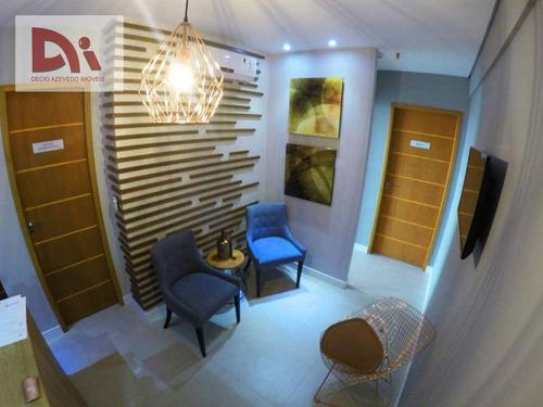 Sala Para Alugar, 48 M² Por R$ 1.600,00/mês - Jardim Das Nações - Taubaté/sp - Sa0009