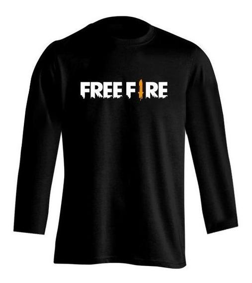 Remera Free Fire Logo Hml