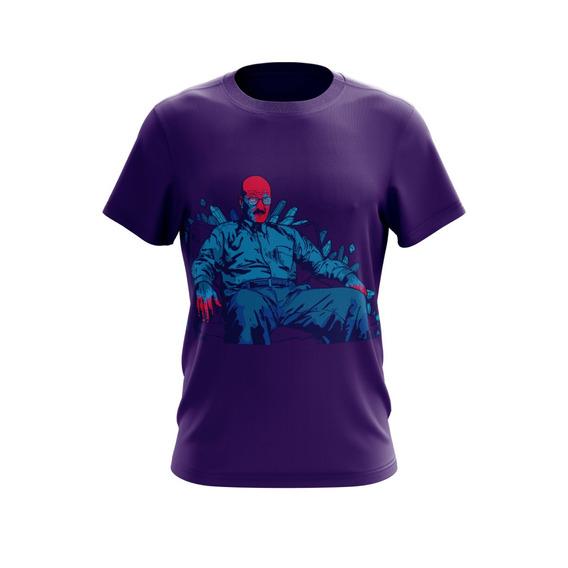 Camiseta Personalizada Criativa Breaking Bad D67460