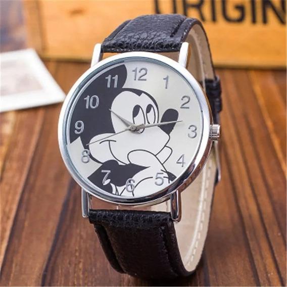 Relógio Feminino Pulso Mickey Mouse Barato