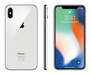 Apple iPhone X Plata 64 Gb