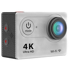 Câmera Action Sport Authentic H9 4k Hd Wifi 2 - Prata