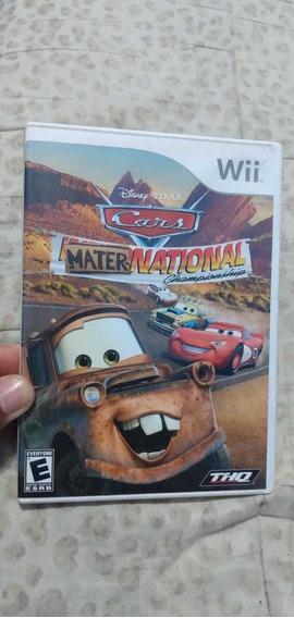 Disney Cars Maternational Original Para Wii