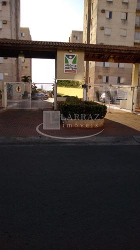 Apartamento Com Quintal Privativo Nos Campos Eliseos Cond Vitoria Parque, 3 Dormitorios Em 58 M2 Com Lazer Completo E Portaria 24h - Ap01558 - 34381667