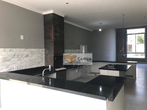 Casa Com 3 Dormitórios À Venda, 150 M² Por R$ 720.000,00 - Residencial Golden Park - Hortolândia/sp - Ca2947