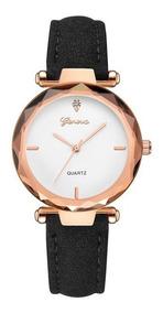 Relógio Feminino Pulseira Luxo Moda Fashion Genova Promoção
