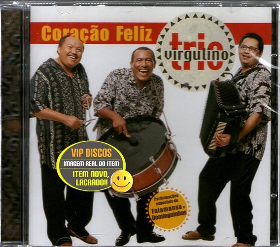 Cd Trio Virgulino Coração Feliz Com Dominguinhos E Falamansa