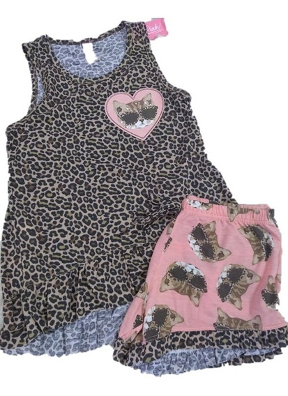 Pijama Nena Gatitos 11319 So Pink Verano
