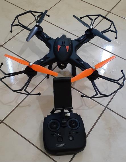 Drone Vivitar Drc-888 - Vídeo Em Full Hd Wifi 360 Graus. Gps