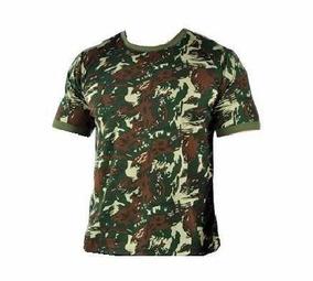 Camisa Camuflada Algodão 30.1 Padrão Exército + Nome Bordado