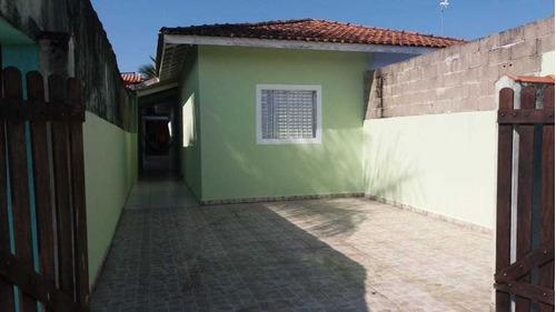 Casa Escriturada Lado Praia No Guacira Em Itanhaém -6131 Npc