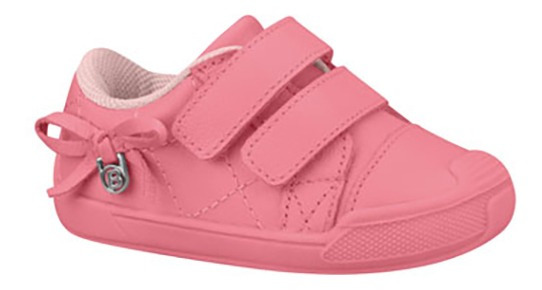 Zapatos Bebes Cierre Magico Lazo Niñas Bibi