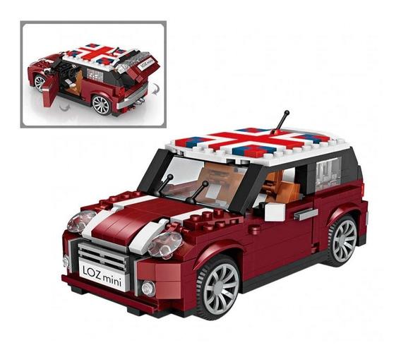 Blocos De Montar Loz Mini Lego Mini Cooper Creator 492 Peças