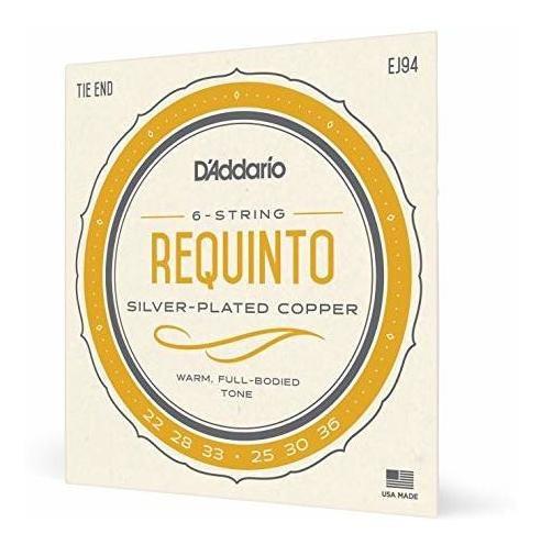 D'addario Ej94 Cuerdas Requinto.